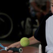 Promozione di tennis in carrozzina all'Unità Spinale del Niguarda